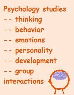 Research studies on cognitive psychology